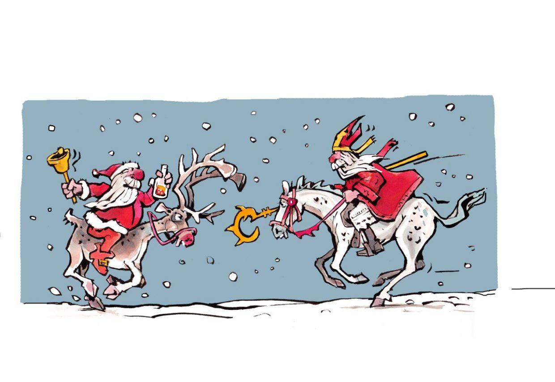 Salon 25 kerstman vs sint